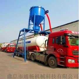 罐装干粉卸料装车用气力输送机50吨输送量吸料机