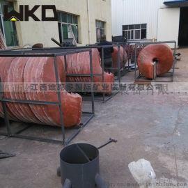 湖南供应螺旋溜槽 玻璃钢螺旋溜槽  重力选矿设备