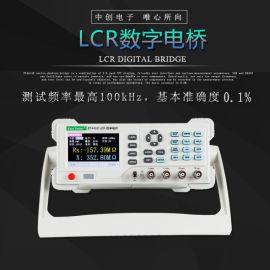中创ET4401台式数字电桥电容感电阻LCR测试仪