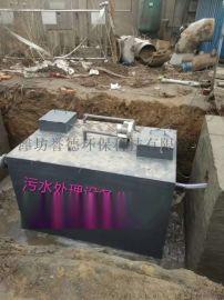 山东潍坊MBR地埋式一体化污水处理设备工艺特点