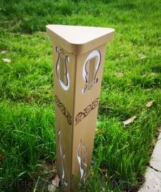 成都音乐公园草坪燈,四川藏式太陽能草坪燈