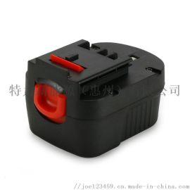 百得12V3.0Ah电动工具电池无绳剪钳电池