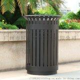 垃圾桶 戶外圓柱形鋼鋁防腐垃圾桶