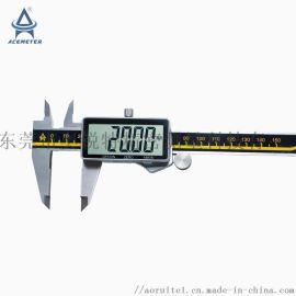 供应全屏数显卡尺高精度0-150mm奥锐特厂家直销