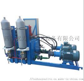液压系统 碎料机 水乙二醇  定制液压系统泵站