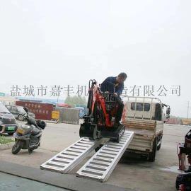 久达大象牌3.2米小微挖机用铝爬梯