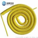 多芯弹簧线螺旋线0.15/0.2/0.3平方伸缩线