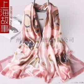 广州十三行深圳南油女装批发**丝巾源头厂家