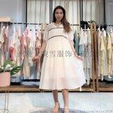 糖果2020夏季宽松甜美连衣裙 品牌折扣女装货源