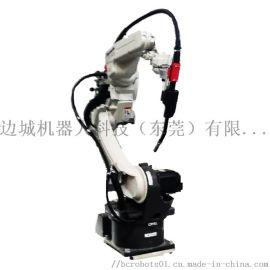 氩弧焊机+边城机器人本体焊接应用