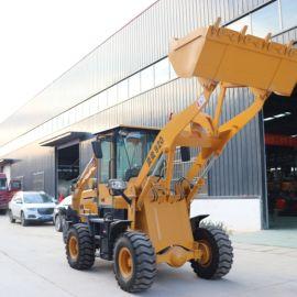 小型装载机 多功能轮胎式装载机 工程修路两头忙