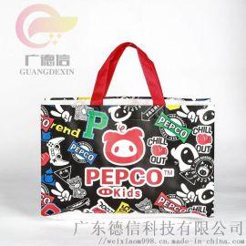 无纺布手提袋定做束口覆膜环保袋购物袋现货LOGO