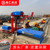 工地机械钢筋滚笼机 双线钢筋绕笼机