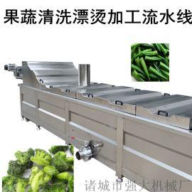 油菜杀青漂烫机 菠菜杀青护色机