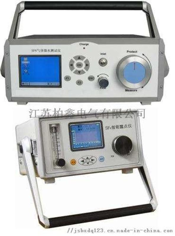 高精度SF6微水測試儀/電力三級承裝修試設備