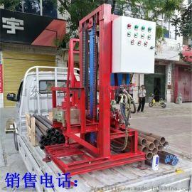 灌溉用轻便式柴油汽油动力钻井机 液压打井机