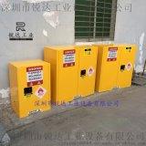 易燃液體弱酸弱鹼存儲櫃CE認證45加侖黃色櫃