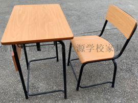 厂家直营善学固定式简约风格课桌椅,学生出口课桌椅