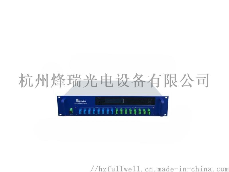 8路PON+CATV EDFA光纖放大合波器,廣電寬頻三網合波器