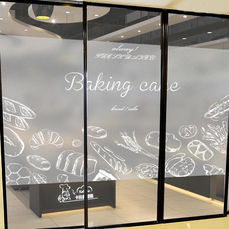 玻璃贴背胶,可移除贴纸墙贴,超透贴玻璃贴