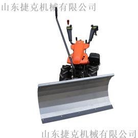 陕西用多功能扫雪机 扫地机加装推雪板 斜角清扫器