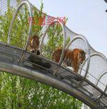 山東青島動物園專用不鏽鋼繩網,