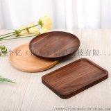 北歐櫸木質麪包托盤 長方形實木日式餐盤
