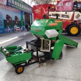 全自动玉米秸秆打捆机,全自动青储玉米打包机