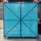 腳手架鋼網 建築防護板 商丘爬架網生產廠家 圓孔