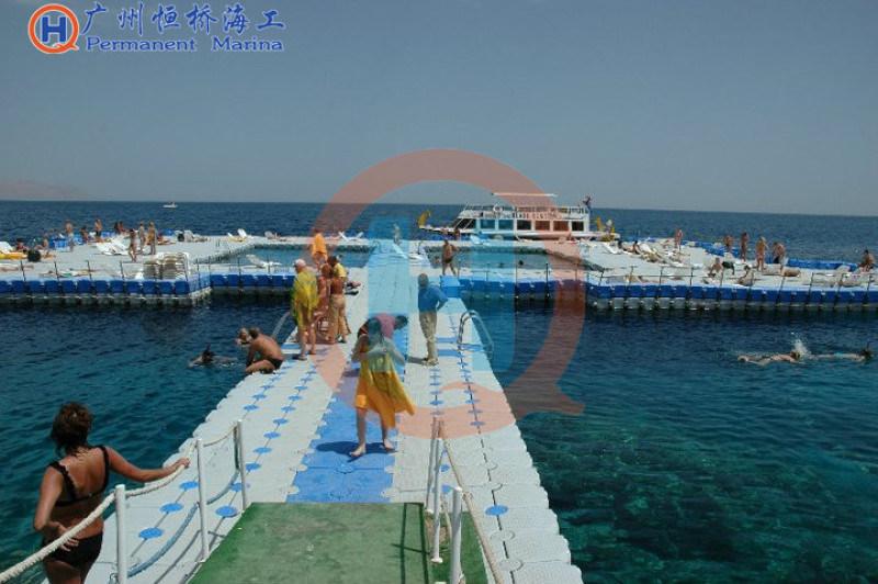 水上游泳池水上乐园浮筒平台双体浮筒单体浮筒