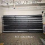 恒圆诚新款钢木结合展示柜  进口食品木纹货架展架