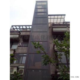 中墅家居电梯源头厂家生产中分式旁开式专业载货电梯