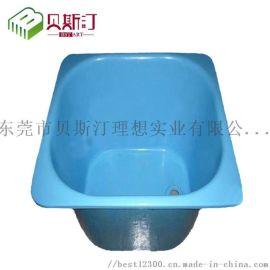 塑料盆厚片吸塑加工 儿童老年人洗手盆后吸塑