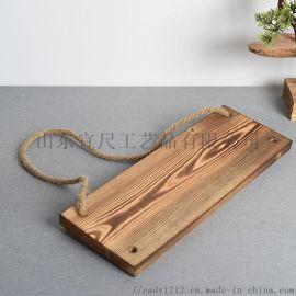 定制款松木挂件新款墙面门牌挂饰