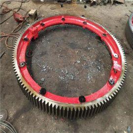 严格按照规范要求生产2.0米造粒机大齿圈