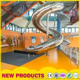 大型户外非标定制 不锈钢游乐设备 景区组合滑梯厂家