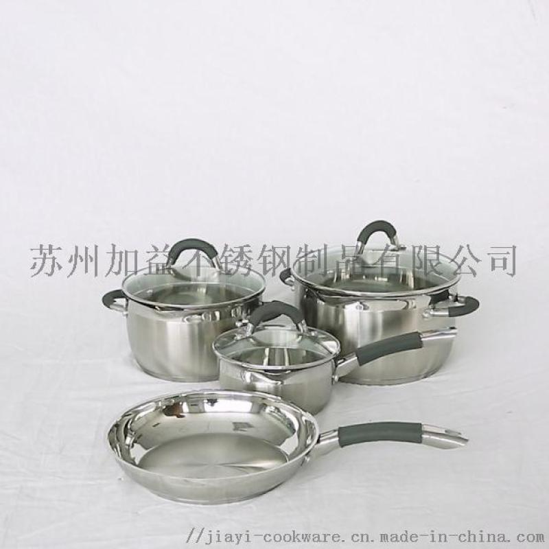 厂家直销JY-DZ系列不锈钢炊具套装