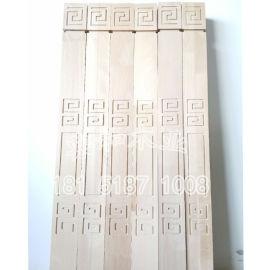 生产各种款式实木楼梯白坯立柱