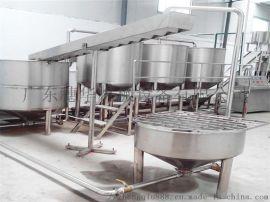 鲜河粉生产线,湿沙河粉机生产线,鲜米皮粿条生产线