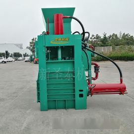 牧草稻草捆扎机 方捆饲料液压打包机 自动套袋打包机