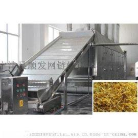 辣椒蒜片连续式烘干流水线 农产品干燥设备
