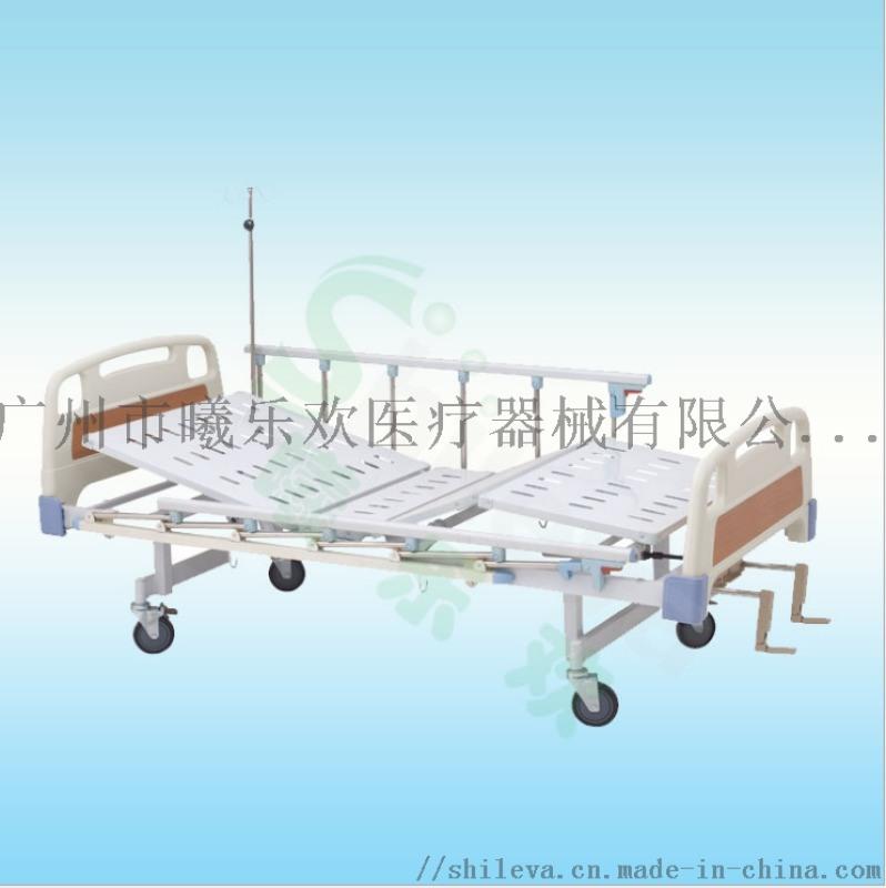三折病床, 多功能手动监护床, ABS手动双摇床