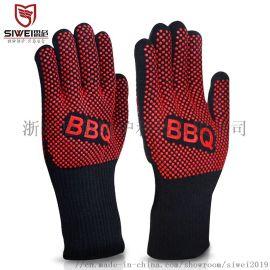 烧烤烘焙微波炉烤箱用耐高温隔热手套