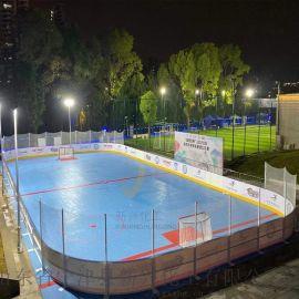 韧性好轮滑场围栏30*61冰球场围栏生产厂家