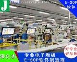 深亿杰E-SOP生产线电子看板系统
