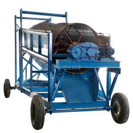 筛沙机筛石机沙金滚筒筛分选砂石山砂分离设备