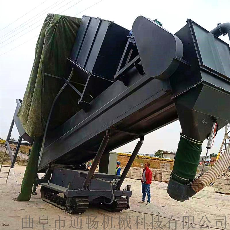 广西建材粉料拆箱卸灰机 集装箱卸料设备 翻箱卸灰机