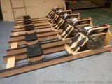 专业厂家可定制木质款水阻划船机健身房液阻划船器健身