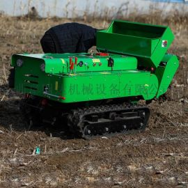 果园旋耕施肥机厂家 自走式履带田园管理机
