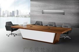 廣東歐梵現代簡約辦公桌主管桌